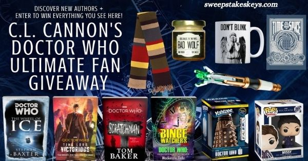C.L. Cannon Doctor Who Ultimate Fan Giveaway