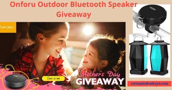 Onforu Outdoor Bluetooth Speaker Giveaway