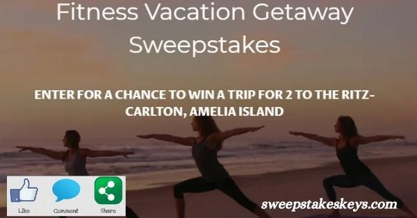 Just Womens Sports Fitness Vacation Getaway Sweepstakes