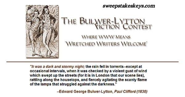 Bulwer Lytton Fiction Contest