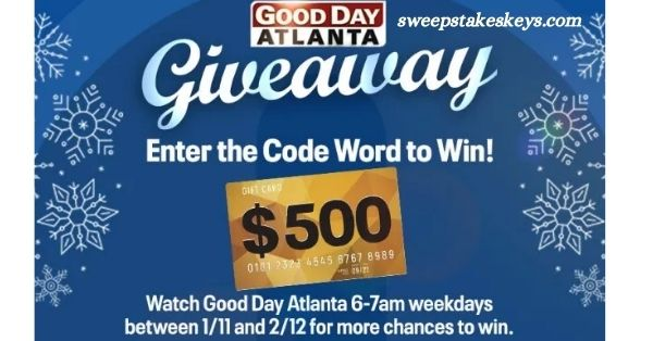 Fox 5 Good Day Atlanta Giveaway 2021