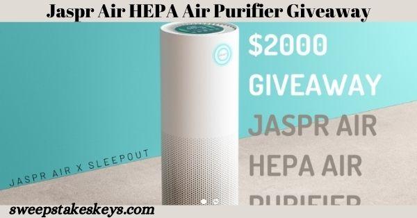 Jaspr Air HEPA Air Purifier Giveaway