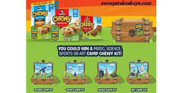 Quaker Summer Camp Chewy Sweepstakes