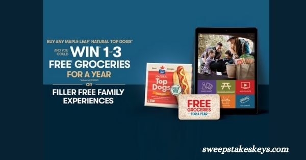Maple Leaf One Year Free Grocery Giveaway  Giveaway 2021