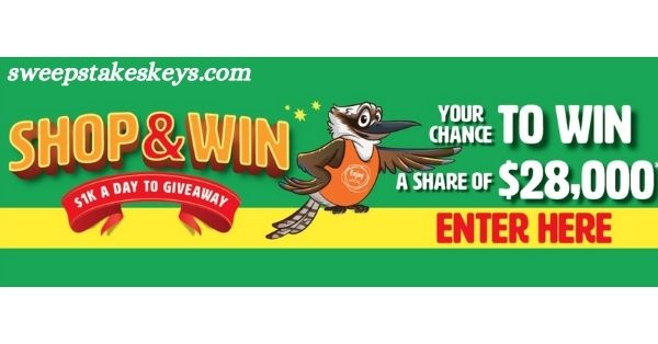 New Sunrise Enjoy Local Shop & Win Competition