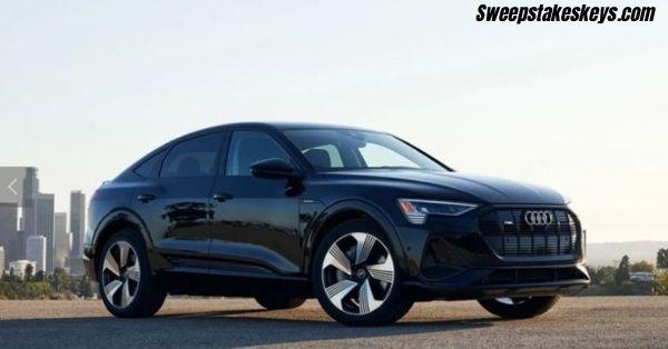 Omaze Audi E Tron Sportback Sweepstakes