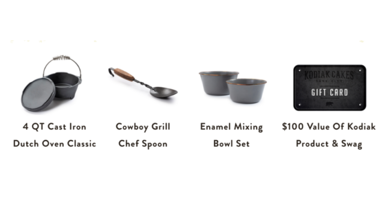 Kodiak Cakes x Barebones Dutch Oven Cooking Giveaway