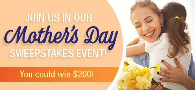 HealthyChildren 2021 Mother's Day Sweepstakes