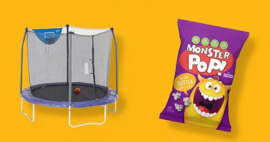 Monster Pop and Skywalker Trampoline Giveaway