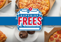 Dominos Surprise Frees Giveaway and Instant Win Game