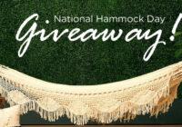 Macrame Boho Hammock Giveaway