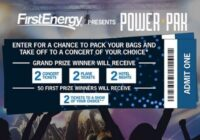 First energy Power Pak Sweepstakes