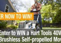 Hart Mower Giveaway