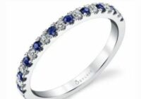 Sylvie Collection Blue Sapphire Band Contest