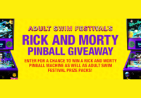 Adult Swim Festivals Rick and Morty Pinball Giveaway