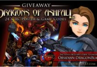 AdventureQuest 3D Dragons Of Ashfall Poster Giveaway