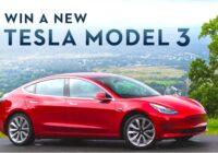 ChristGoal Tesla Model 3 Giveaway