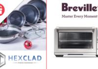 Ellen Hexclad And Breville Giveaway