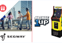 Ellens Segway Scooter and Arcade1Up Gaming Cabinet Giveaway